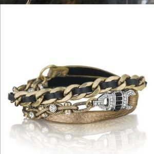 Chloe & Isabel Deco Leather Wrap Bracelet